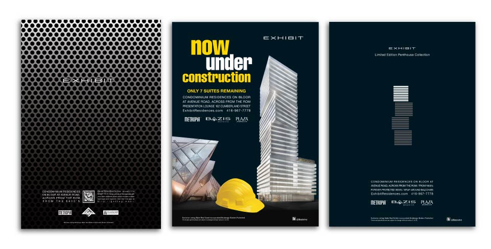 High Rise, Bazis, Exhibit, Print Advertising