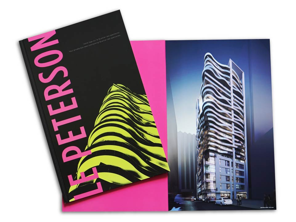High Rise, Groupe Benvenuto, Le Peterson, Print Material