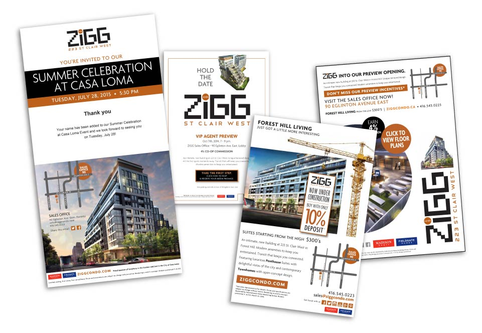 High Rise, Madison Homes, Zigg, Digital Campaign