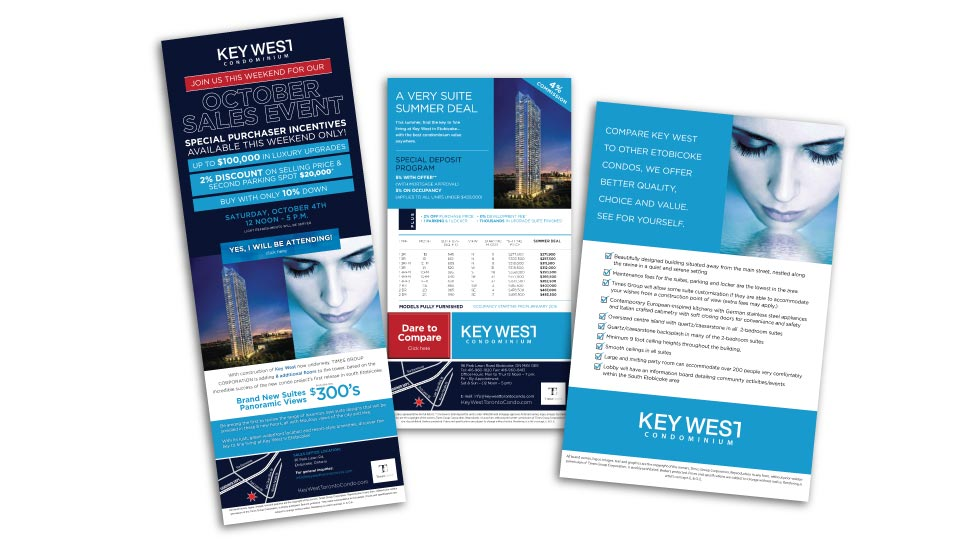 High Rise, Times Group Corp, Key West, Digital Campaign