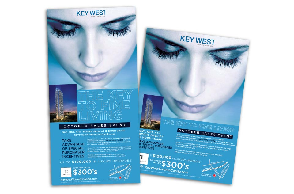 High Rise, Times Group Corp, Key West, Print Advertising