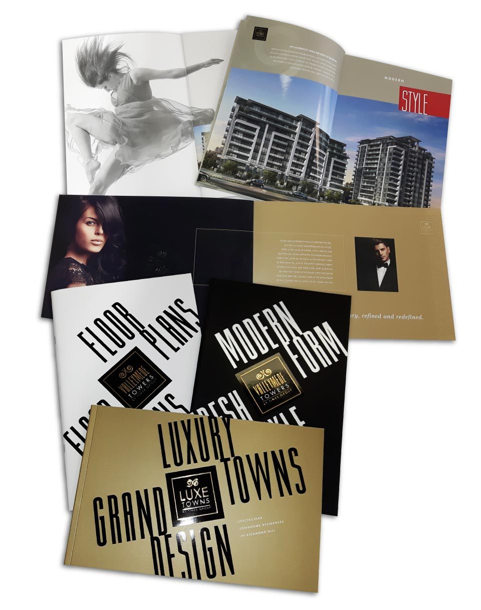 High Rise, Times Group Corp, Valleymede Towers, Print Material