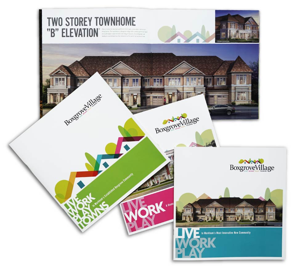 Low Rise, Arista Homes, Boxgrove Village, Print Material
