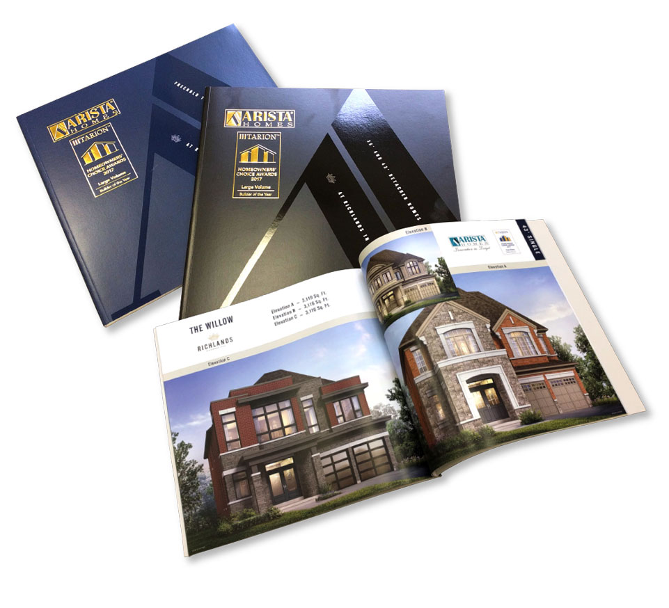 Low Rise, Arista Homes, Richland, Print Material