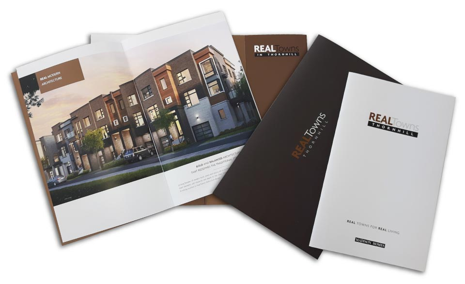 Low Rise, Madison Homes, Real Towns, Print Material