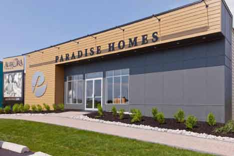 Low Rise, Arista Homes <br /> Fieldgate Homes <br /><nobr>Paradise Developments</nobr> <br /> Opus Homes, Aurora Trails, Presentation Center-1