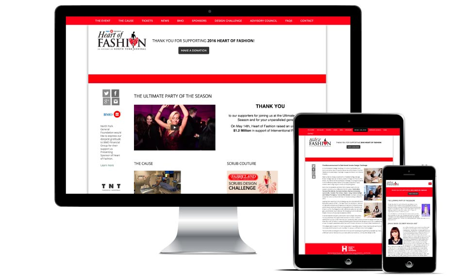 Other, Heart of Fashion, Heart of Fashion, Website
