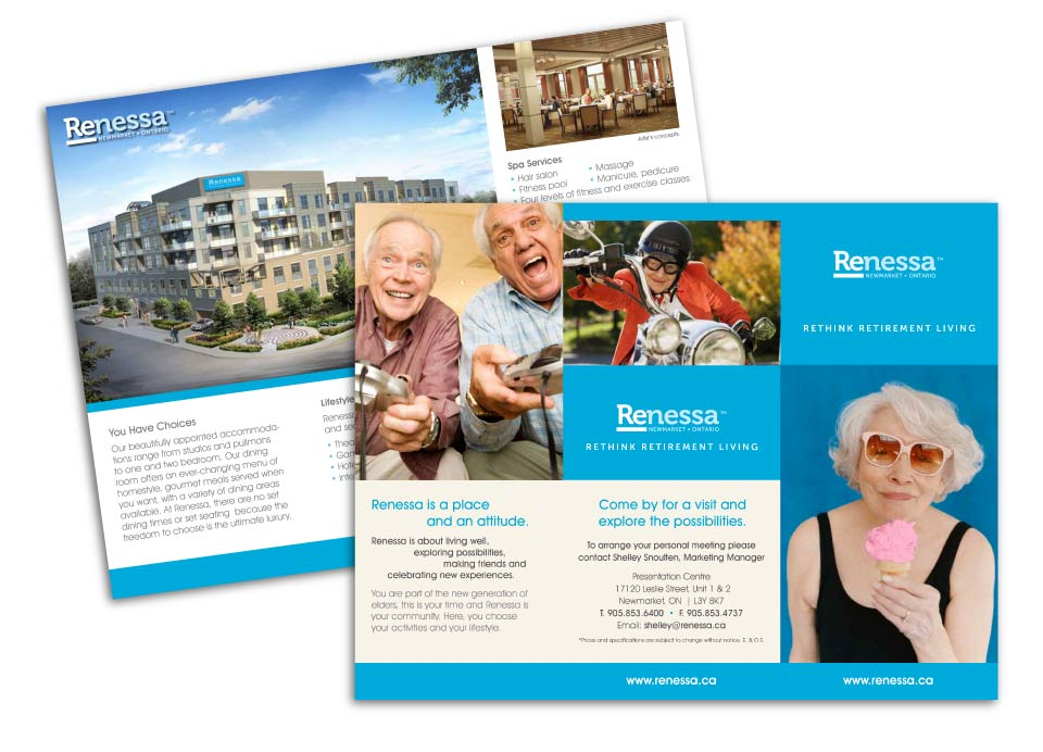 Retirement, Forrest Group, Renessa, Print Material
