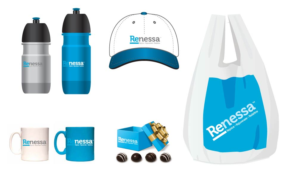 Retirement, Forrest Group, Renessa, Promo Items