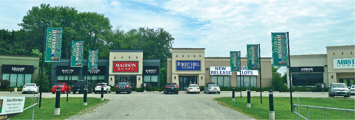 Forest Hill Homes & Madison Homes - SALES CENTRES