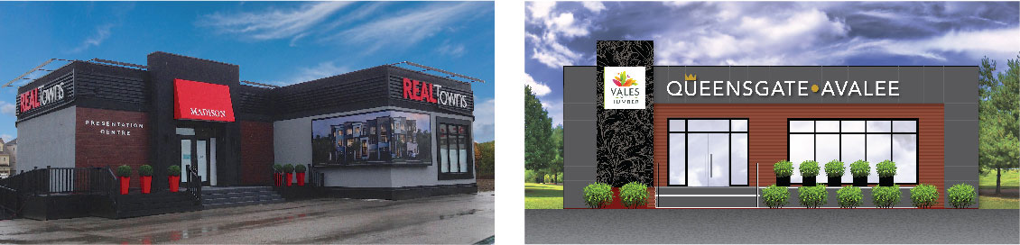 Real Towns & Queensgate Avalee - SALES CENTRES